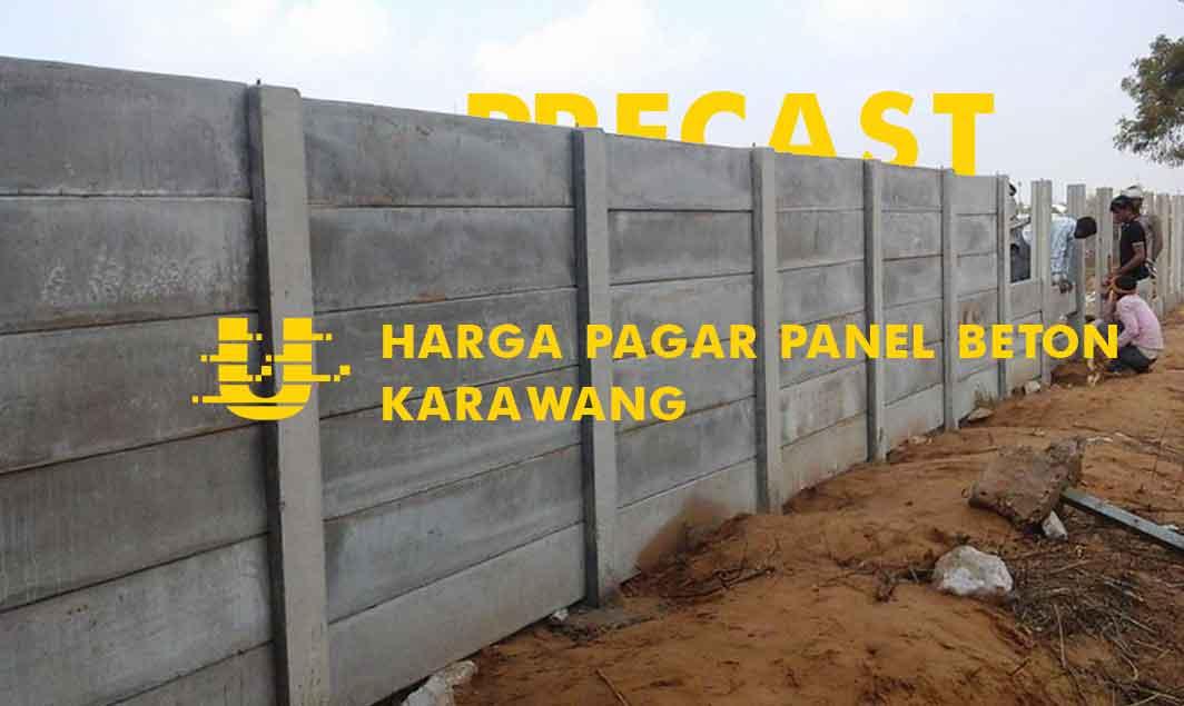 Harga Pagar Panel Beton Karawang